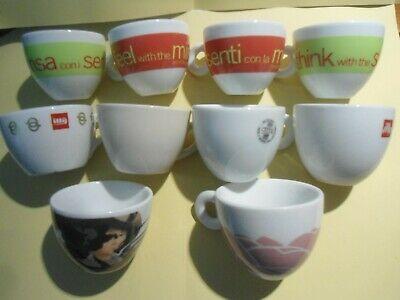 Caffe & Ille - 10 Coupes à Cappuccino - Venise - 75ème - Trieste - Lin - Manetti