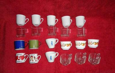 Lotto - stock - 22 tasses à café -