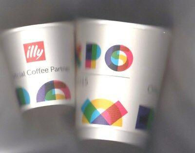 Expo 2015 Milan Illy Caffe & # 39; 2 Lunettes te & # 39; E café
