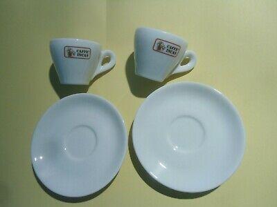 Incas Caffe - 2 Tasses Publicitaires Espresso