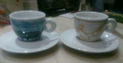 Paire de tasses ILLY COLLECTION Coffee 1994-SIMON MEENTZEN
