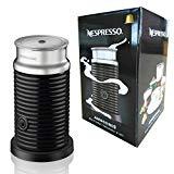 Nespresso Aeroccino 3 Foam Foam Foam couleur: Noir