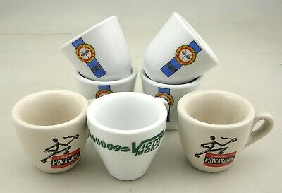 Lot de 7 tasses à café Mokarabia Victor Moka Crastan Coffee