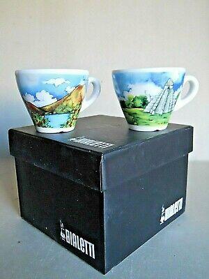 Vintage Vintage Bialetti Rare Cups Avec Box Guatemala Par Musetti 8 Photos