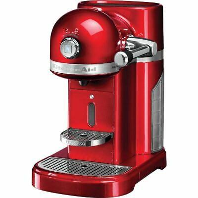 KitchenAid Machine à café expresso rouge 5KES0503EER + Garantie Nespresso ...