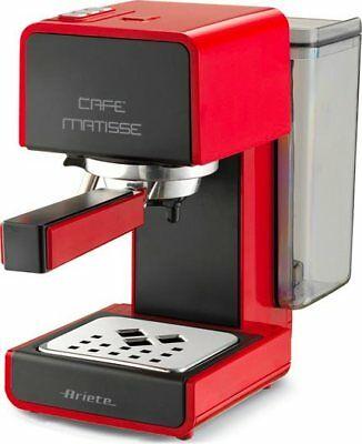 Cafetière à dosettes et poudre Ariete Espresso Cappuccino Matisse Rouge 1363