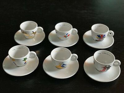 Illy Art Espresso Tassen * Limité * Édition limitée * Marco Ladoa 1999 * Rare