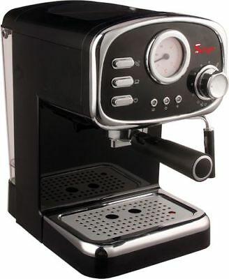 Machine à café expresso et Cappuccino Retrò avec 3 poudre ESE et dosette FILTRES