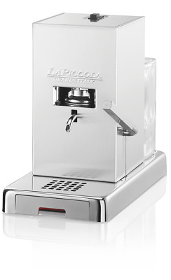MACHINE À CAFÉ LA SMALL PODS ESE 44mm ACIER INOXYDABLE SATIN MODÈLE À CAMPER