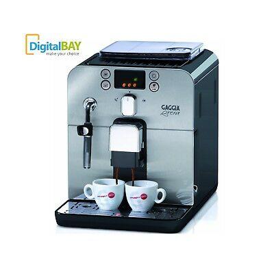 Le broyeur automatique Gaggia RI9305 / 11 Brera de machine d'espresso a mené le noir