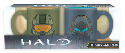 Halo Masterchief VS Locke Set 2 Tasses À Café Mini - Tasses À Café ABYSTYLE