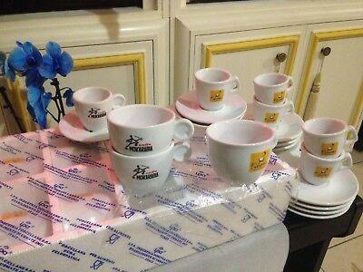 Coffee Filicori Zecchini service de bar Tasses à café Cappucino + Tasses Nespresso