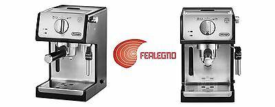 Machine à café moulu et dosettes en acier inoxydable Ecp3531 Delonghi