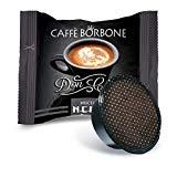 Bourbon Coffee Don Carlo Black Blend - Paquet de 100 Capsules - Compatible avec Lavazza A Modo Mio®