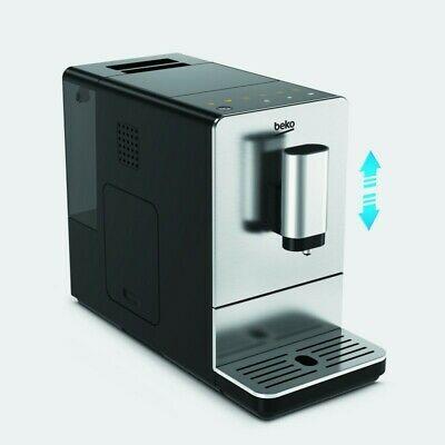 Machine en acier inoxydable Beko Ceg5301X Caffe Superaut 19Bar