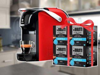 Bialetti Break dans Super Discount et avec 64 capsules GRATUITES!