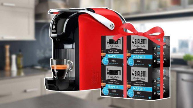 <pre><pre>Bialetti Break dans Super Discount et avec 64 capsules GRATUITES!