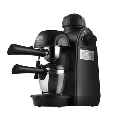 Mini machine à café italienne pour dosettes moulues à café espresso et cappuccino