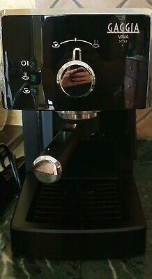 Machine à café noire Gaggia Viva Style