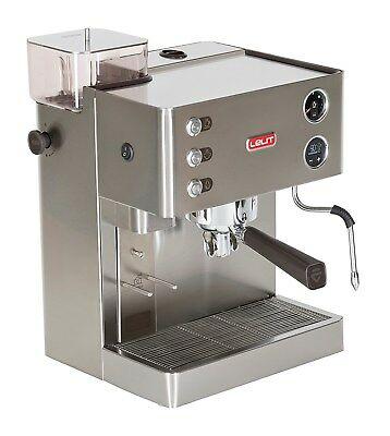Lelit Kate PL82T MACHINE À CAFÉ ESPRESSO Professional 1200W 15BAR CAPPUCCINO