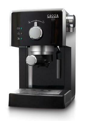 Machine à café en aluminium noir Viva Style Focus de Gaggia RI8433 11