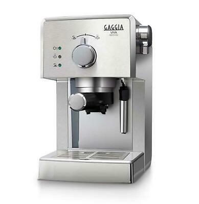 Machine à café en aluminium argenté 11 Viva Prestige Gaggia RI8437