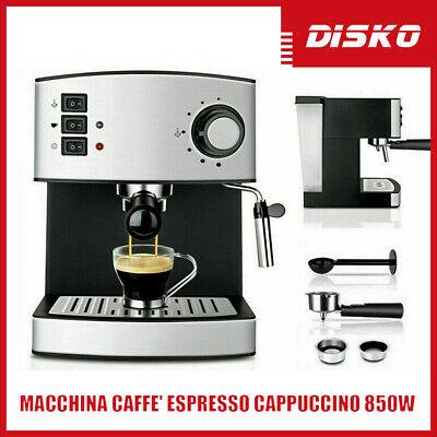 Machine à expresso Cappuccino Latte 850W 1.6L 2 tasses professionnelle Moka