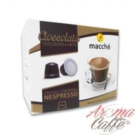taches de café, capsules de chocolat nespresso compatibles