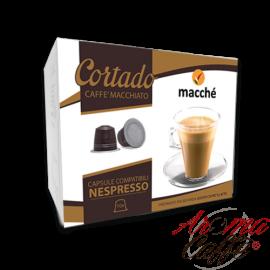 taches de café, capsules compatibles nespresso cortado