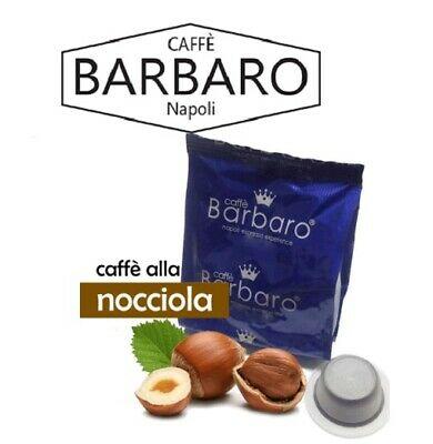 Bialetti compatible aromatisé aux noisettes et aromatisé au café barbare, 100 capsules