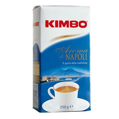Café Kimbo Aroma Di Napoli 250 Moka Espresso Extra Noir