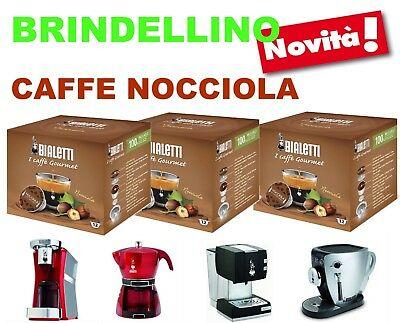 96 capsules Caffe Nocciola Mokespresso Bialetti Mokona Mokissima Tazzissima Cuore