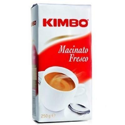 Café fraîchement moulu Kimbo 250 Gr Di Napoli Rôti moyen Espresso Moka