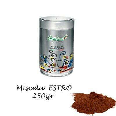 Silver Cavaliere - ESTRO pot de café expresso moulu de 250gr