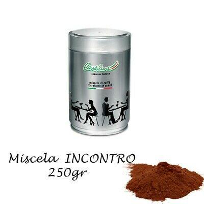 Silver Cavaliere - Pot INCONTRO de café expresso moulu de 250gr