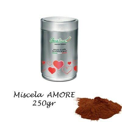 Cavaliere Argent - 250gr. LOVE pot de café expresso moulu