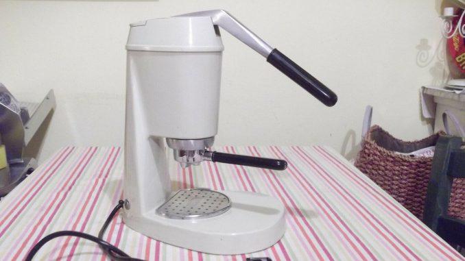 <pre><pre>Machine à café avec levier zerowatt vintage jamais utilisé - EUR 31.50