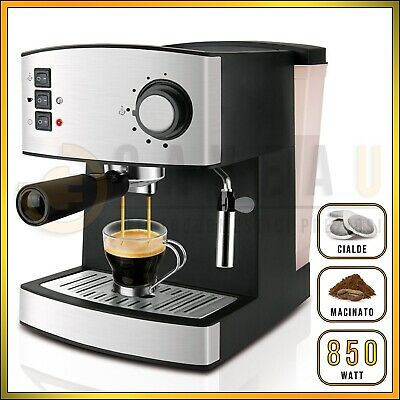Machine à café PODS Ese AUTOMATIQUE POUR Cappuccino GRAINES A GRAINS D'ESPRESSO