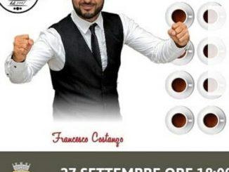 pulyCAFF sponsor du test de vitesse et de précision dans l'extraction de l'express avec la machine à levier, Naples 27 septembre