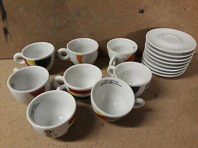 8 tasses à cappuccino + 2 tasses à café illy 2015 Expo Milan