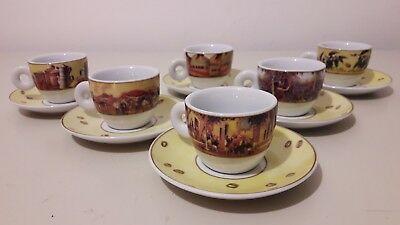Service six tasses à café Collection de Tresors