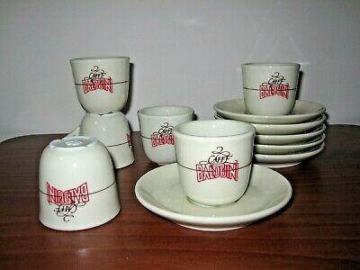 BALDUINI COFFEE ROASTING 6 Tasses Tasses Café Espresso Gaggiano Lombardia