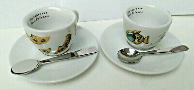 2 tasses tasses café espresso illy Max coffret café Max Petrone 2019