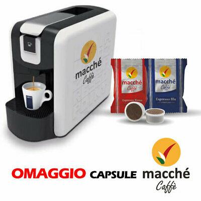 Machine à café Espresso Point Ep de Lavazza + Capsules compatibles avec les macarons-cadeaux