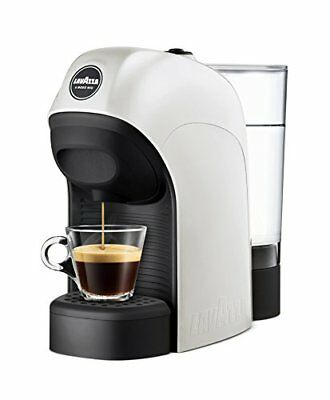 LAVAZZA Minuscule Machine à Café Espresso 0,75Lt. Puissance 1450 Wat blanche