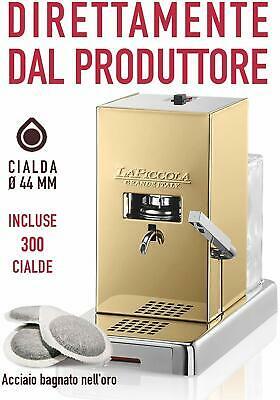 Machine à dosettes La Piccola Gold avec 300 dosettes incluses