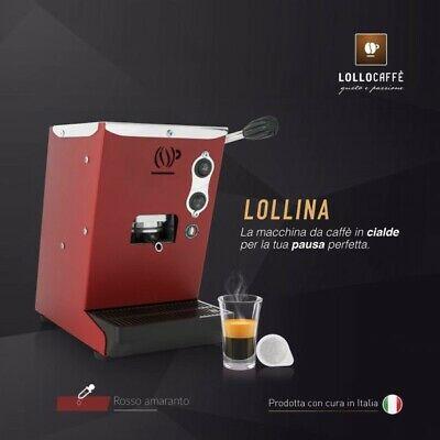 Machine à café expresso avec ESE 44mm - Lollina rouge