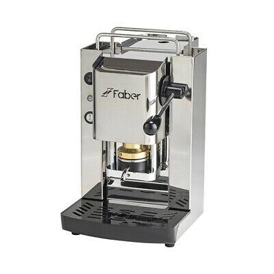 Machine à café à dosettes Faber Pro Total Inox ESE44