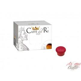 100 Capsules Compatibles Caffè Del Re (AROMA VERO - ILLY MITACA - LUI ESPRESSO - HAMMER)
