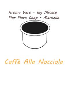 10 capsules AROMA TRUE - ILLY MITACA - FIOR FIORE COOP - HAMMER Caffè Barbaro (NOISETTE)